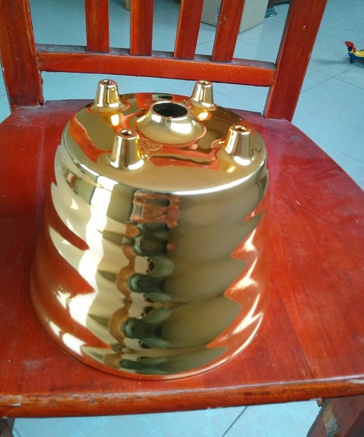 18K金色喷油喷粉喷塑加工