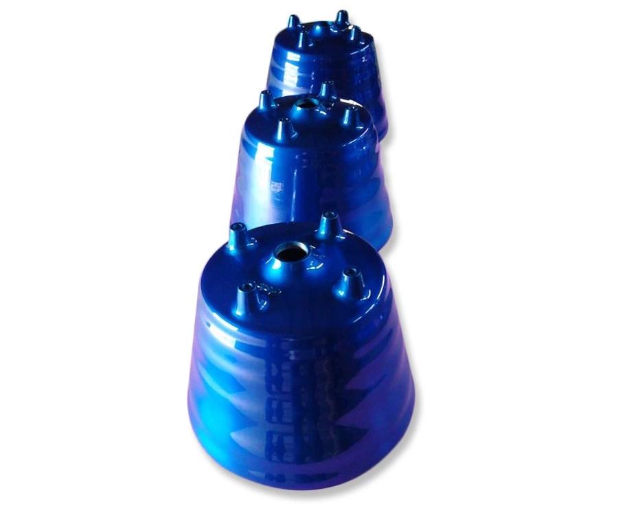 宝蓝色喷油喷粉喷塑加工