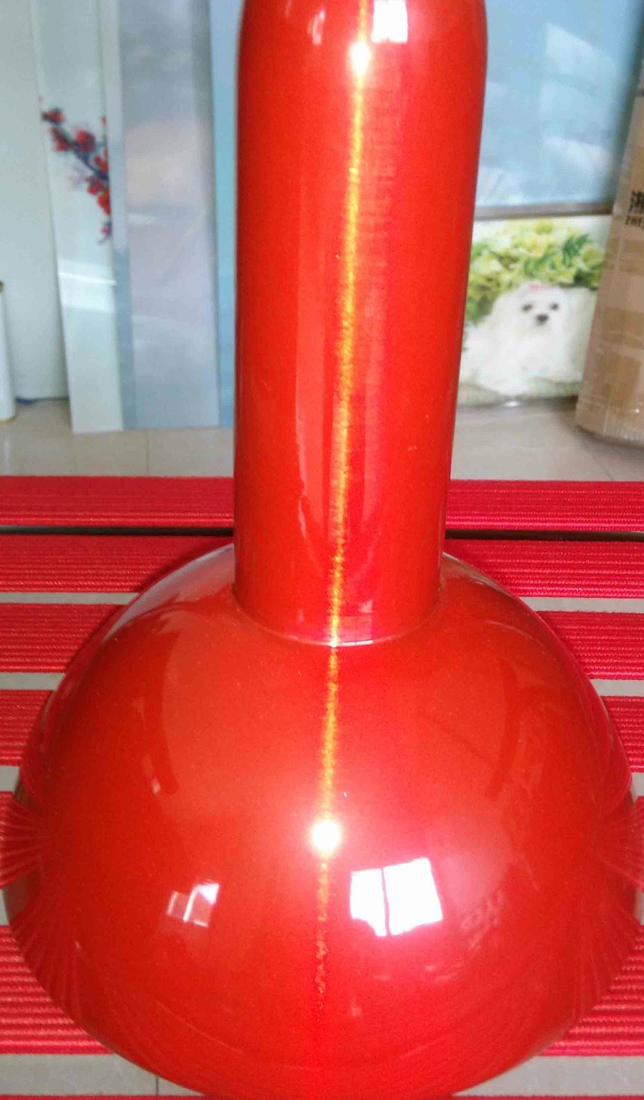 红色喷粉加工