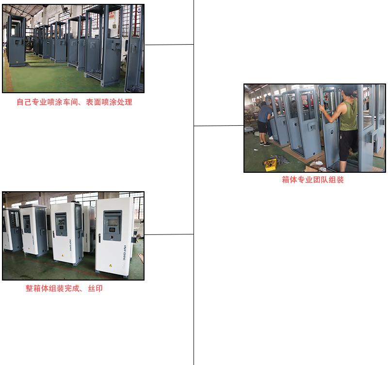 充电桩箱体钣金加工,喷涂一站式完成厂家