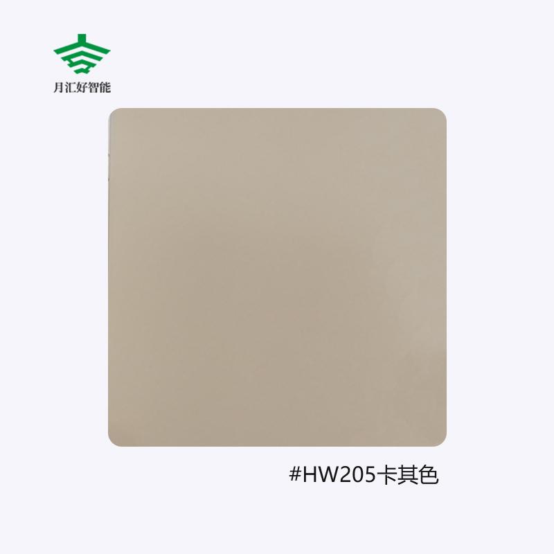 喷涂色板HW205卡其色