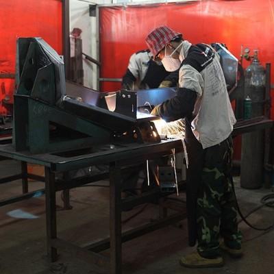 碳钢铝材手动焊接加工