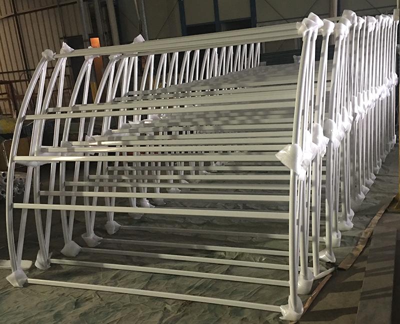 栏杆静电喷涂加工厂