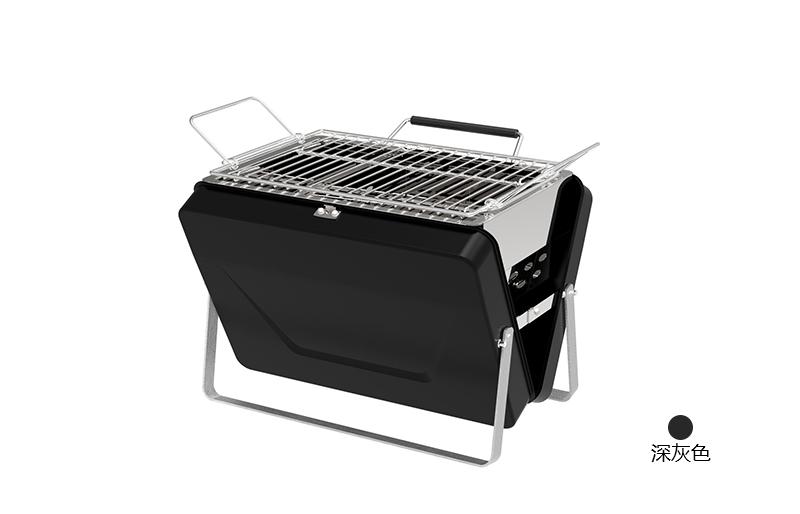 静电喷涂电烤箱黑色款