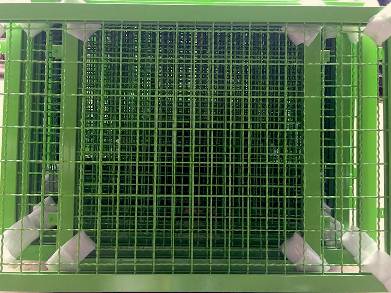 网框静电粉末喷涂