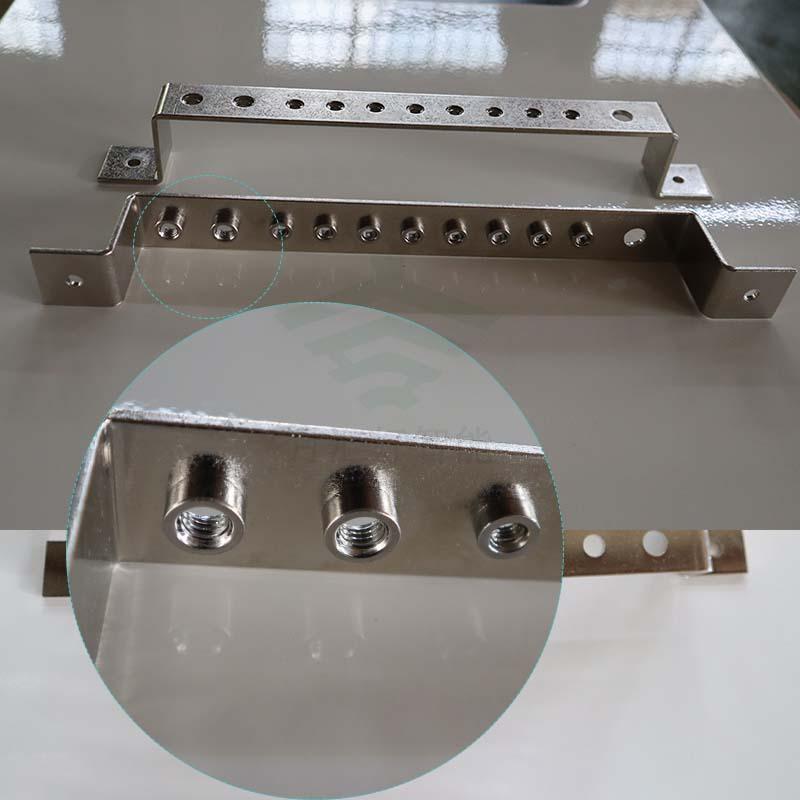 铜排件加工2