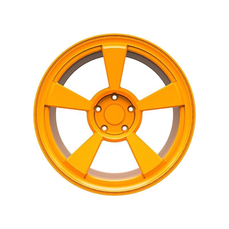 汽车轮毂静电喷粉喷塑