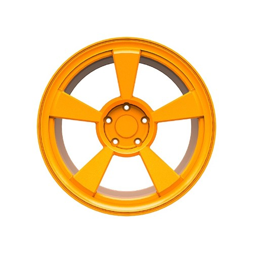 汽车轮毂户内粉末喷涂