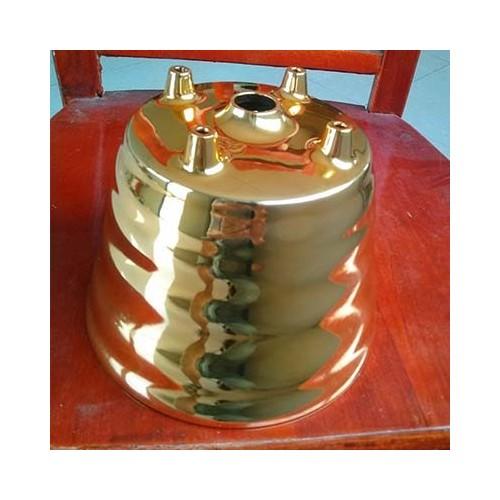 咖啡机喷粉18K金色