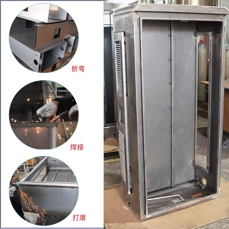 充电桩箱体钣金加工,焊接成型