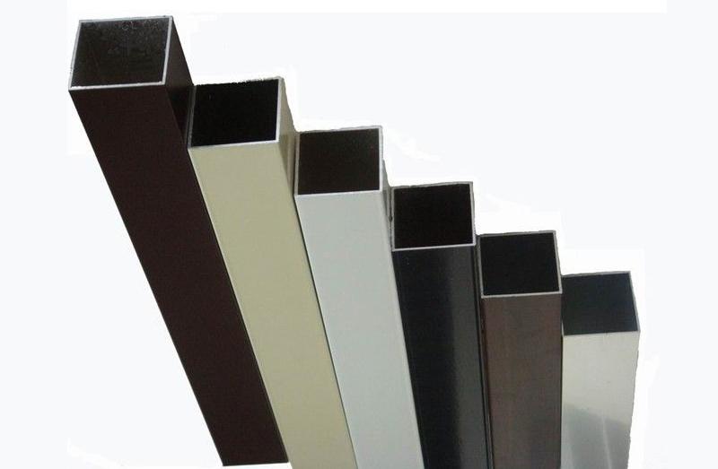 铝型材实色样板静电喷粉喷塑