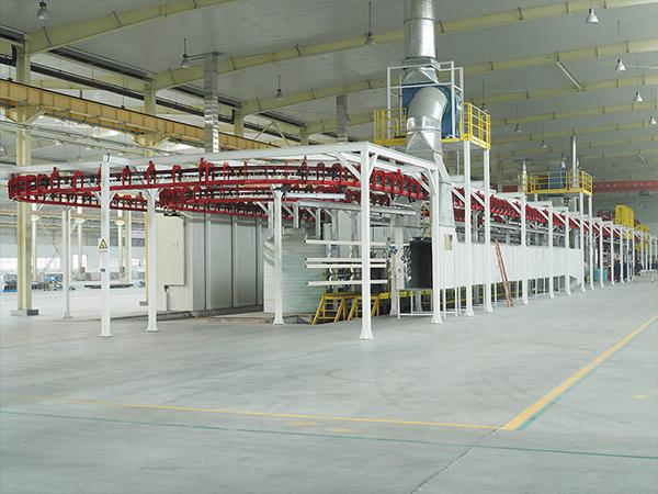 喷涂加工厂环境,钣金喷粉,静电喷粉,钣金加工,喷涂加工厂,月汇好